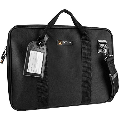 (Protec Slim Portfolio Bag, Black (P5))