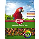 Kaytee Exact Rainbow Large Parrot Chunky Premium Daily Diet, 4-Pound, My Pet Supplies