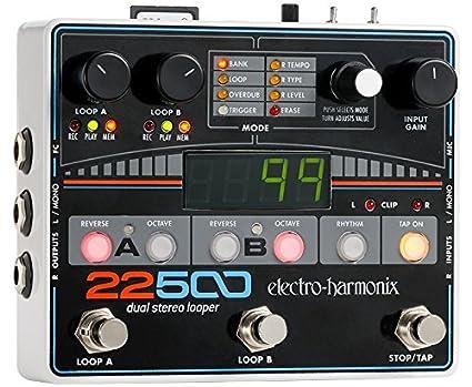 Electro Harmonix 665229 efecto de guitarra eléctrica con sintetizador Filtro 22500 Dual ster. Looper