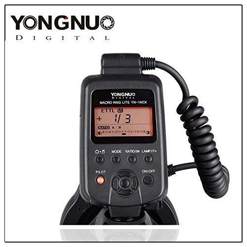 Yongnuo YN-14EX TTL Macro Ring Lite Flash Light for Canon EO