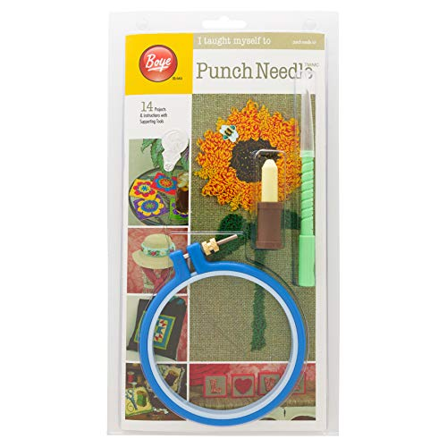 (Boye Easy Learn to Punch Needle Embroidery Craft Kit)