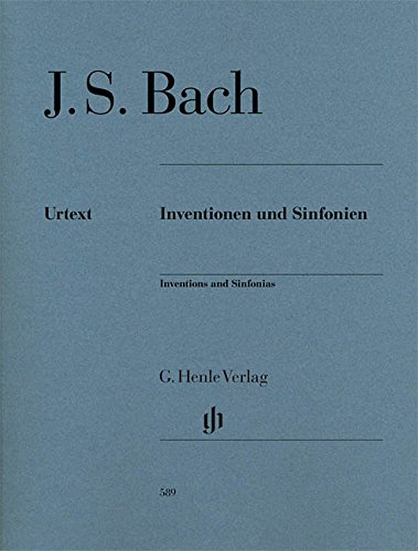 Inventions And Sinfonias Revised Edition Piano