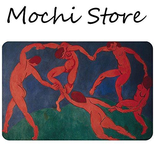 Mochi Fauvism Henri Matisse The Dance art doormat Entrance Floor Mat Funny Doormat Machine Washable Rug Non Slip Mats Bathroom Kitchen Decor Area Rug 30''(L) 18''(W) by Mochi