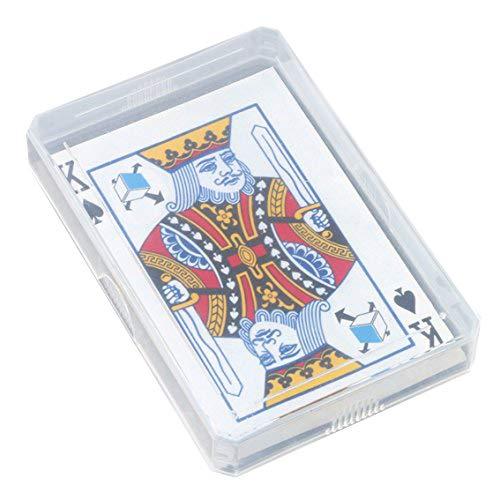 ATC Plastique Bo/îte de rangement de cartes de jeu /étui pour cartes de visite Bo/îtes Coque Couvercle