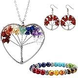 Best Hope Tree Wedding Ring Sets - Mikty Pendant Necklace Bracelet Earrings Jewelry Set,Women Fashion Review