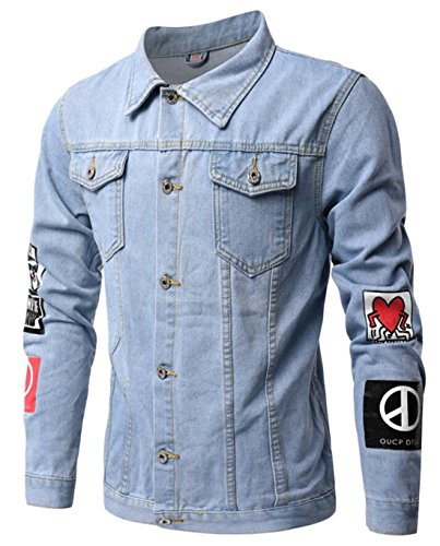 Unlined Denim Jacket - 8
