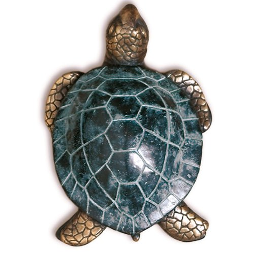 (Solid Brass Sea Turtle Door Knocker)