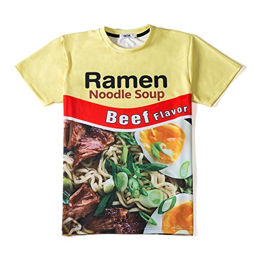 ONSEME Beef Ramen Noodle T Shirts (Beef Select)