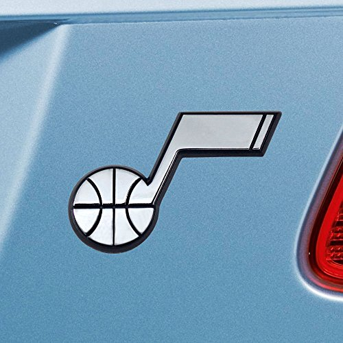 FANMATS  14938  NBA Utah Jazz Chrome Team Emblem