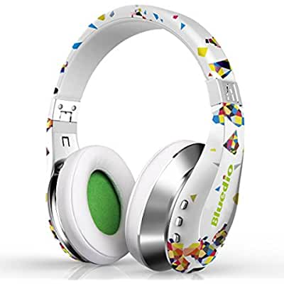 Urvoix Bluetooth Wireless Foldable Headphones Over Ear Stereo Headset with Microphone for Smart Phones & Tablets...