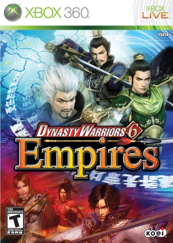 Dynasty Warriors 6 Empires Xbox 360 product image
