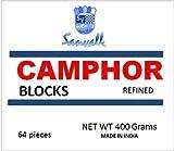 Box of Camphor 16 Blocks - 64 Tablets Premium Refined Camphor Sanvall - No Residue - Bed Bug - Tool Tarnish