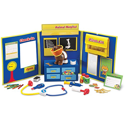 Pretend Play Animal Hospital (Learning Resources LER2660 Pretend & Play Animal Hospital)