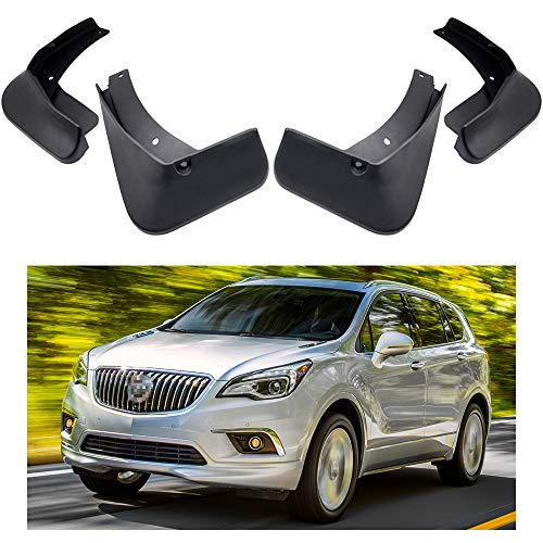 rd Fender Mud Flaps Splash Guard Kit fit for Buick Envision 2016 2017 2018 2019 ()