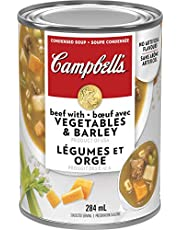 Campbell's, Beef with Vegetables and Barley Soup, 284 mL (Packaging May Vary)