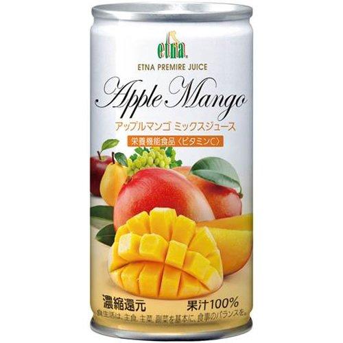 195mlX20 this Etna apple mango mix juice by Etna