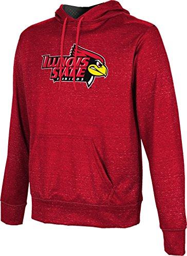 (ProSphere Illinois State University Men's Pullover Hoodie, School Spirit Sweatshirt (Heather) FABA2)