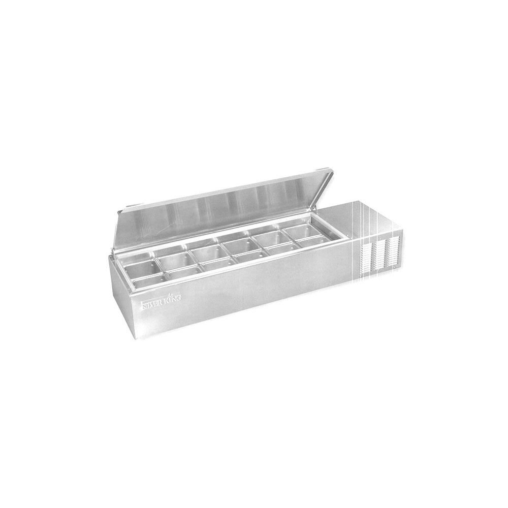 Amazon.com: Silver King SKPS12/C1 Refrigerated Countertop Prep ...