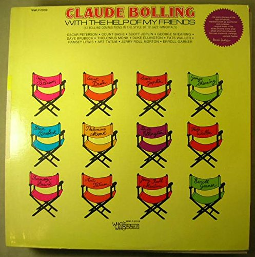 Claude Bolling  With The Help Of My Friends  Whos Who In Jazz Wwlp 21018  Us