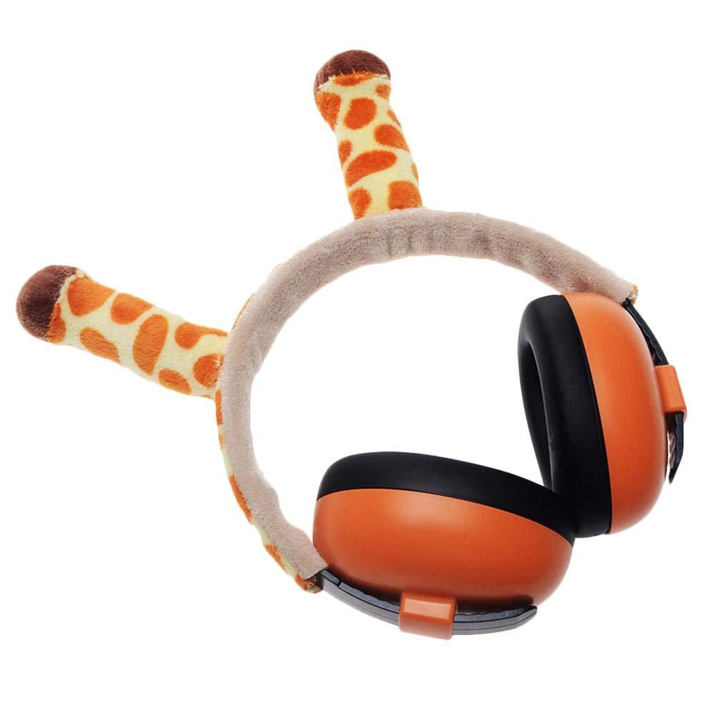 Wan Ning Auriculares de protecci/ón auditiva beb/és y ni/ños La funci/ón de reducci/ón de Ruido de ni/ños y beb/és Puede ajustarse Completamente de 0 a 12 a/ños.