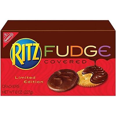 Ritz Seasonal Fudge Covered Crackers, 7.5 Ounce (Pack of 12)