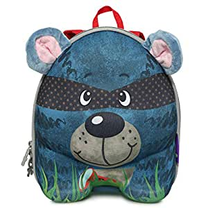 Okiedog 80042 School Backpack - Unisex, Blue and Red