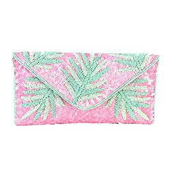 Beaded Convertible Clutch
