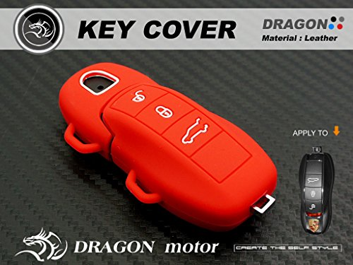 Silicon Key Fob Holder Case Chain Cover Fit For Porsche 911 Carrera S Targa S3 Ps04 R