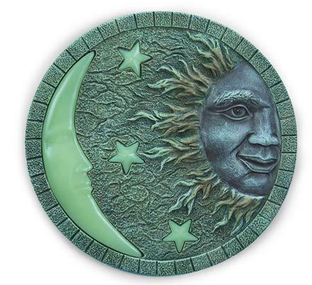 Sun & Moon Glow in the Dark Stepping Stone, ()