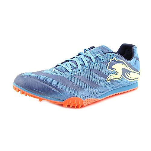 PUMA Men's TFX Star V2 Track and Field Shoe,Metallic Blue/Insignia Blue/Fluorescent Yellow,11 M US