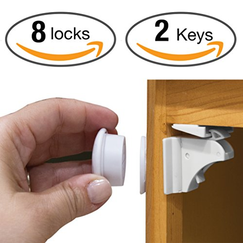 magnetic cabinet locks childproof