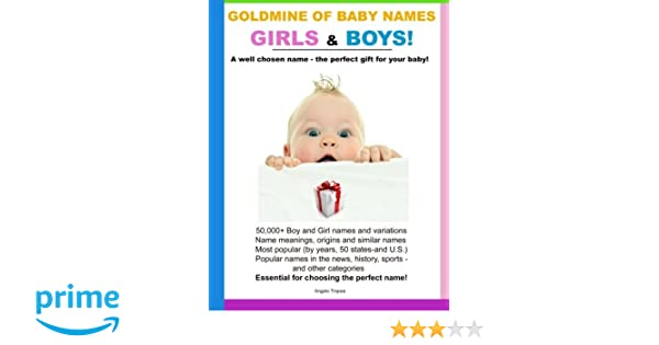 Goldmine of Baby Names Girls and Boys!: Angelo Tropea