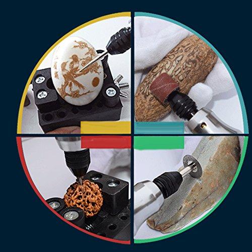 lzndeal 15 Pcs//ensemble DIY Graveur Carve /Électrique Stylo Graveur /Électrique Gravure Carve Outil pour Bijoux M/étal Verre Pierre Plastique Bois Eu Plug