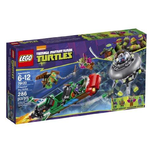 LEGO Teenage Mutant Ninja Turtles T-Rawket Sky Strike (79120) (Ninja Turtle Blue)