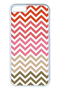 Colored Stripes Slim Soft For Ipod Touch 4 Case Cover Case PC White Cases
