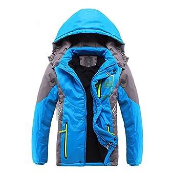 63b7b8897f2b SODIAL(R) Children Outerwear Warm Coat Sporty Kids Clothes Double ...