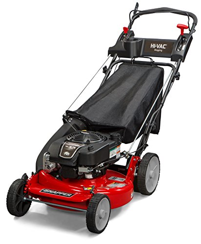 - Snapper P2185020 / 7800980 HI VAC 190cc 3-N-1 Rear Wheel Drive Variable Speed Self Propelled Lawn Mower with 21-Inch Deck and ReadyStart System and 7 Position Height-of-Cut