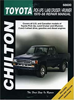 toyota pickup 79 95 haynes repair manuals haynes 0038345006562 rh amazon com 1985 Toyota Pickup 1986 toyota pickup shop manual