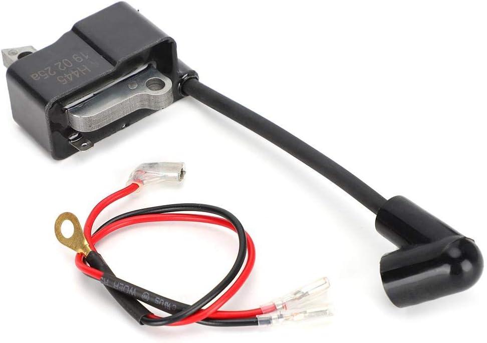 Mumusuki Accesorios para bobinas de Encendido de Motosierra de jardín Piezas aptas para el reemplazo de la Motosierra HUS445