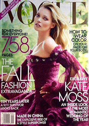 Vogue Magazine (September - Vogue Kate Moss