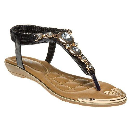 SOLESISTER Vivienne Sandals Black Black WdGWByh