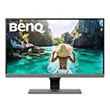 BenQ 27-inch 1080p HDR Monitor (EW277HDR), 93% DCI-P3, 100% Rec.709, 4ms Response Time, Eye-Care, Brightness Intelligence Plus, HDMI, VGA, Built-in Speakers