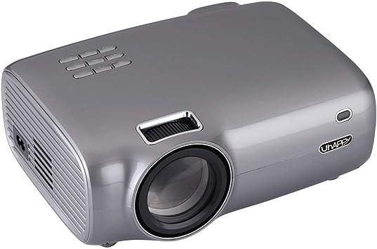 Mini proyector, 2600 Lux Proyector de película portátil con 20.000 ...
