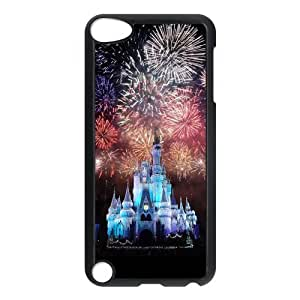 Design Case Cute Disney Castle Print on Hard Plastic Back Case Cover Ipod touch 5 Case Perfect as Christmas gift(4)