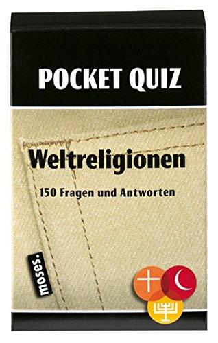 Pocket Quiz Weltreligionen: 150 Fragen und Antworten (Pocket Quiz / Ab 12 Jahre /Erwachsene)