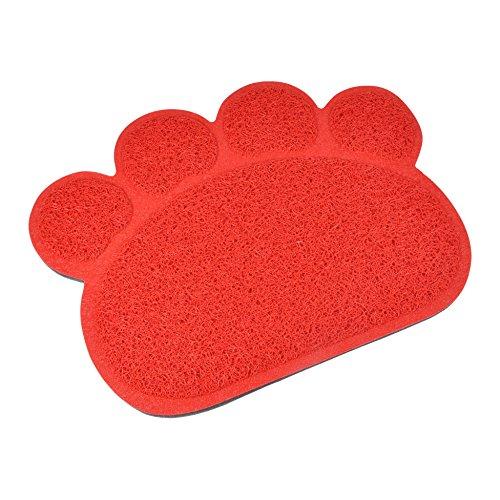 CODICO 6tap001ro pattou Cat Litter Box Mat