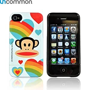 For Apple iPhone 4S 4 Paul Frank Rainbows Hearts OEM Uncommon Slide On Hard Case