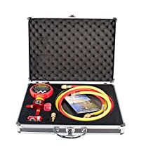 IWISS Digital Manifold Gauge With 2 Hoses For Servicing Refrigeration Systems