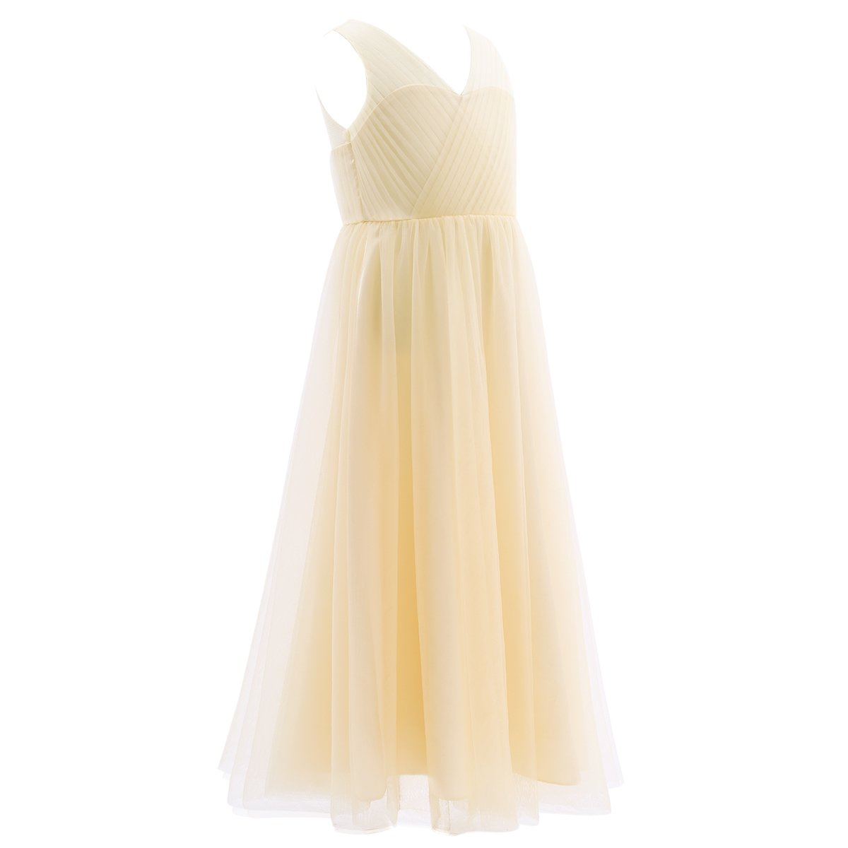 inlzdz Women Girls High Waist Flowy Fringe Tassels Latin Skirt Tango Rumba Skirt Performance Dancewear