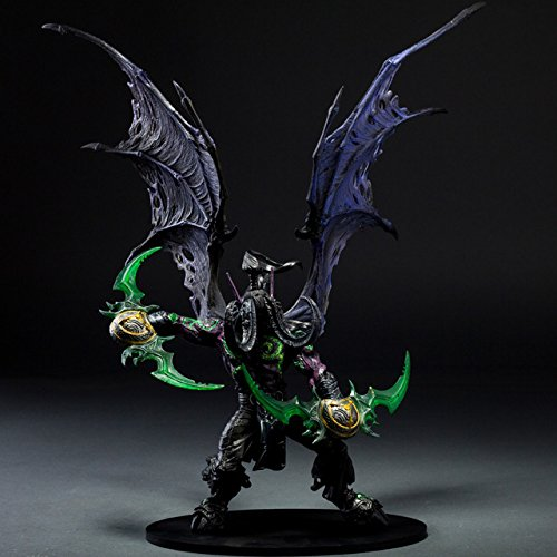 Toy, Play, Fun, Wow Demon Hunter Action Figure DC Unlimited Series 5 13 inch Deluxe Boxed Demon illidan Stormrage WOW PVC Figure Toy KA0552, Children, Kids, Game